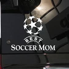 Mom Soccer Football Player Sticker Sports Decor Helmets Kids Room Decoration Posters Vinyl Soccer Car Decal Wall Decals Football Sticker Kids Roomvinyl Wall Aliexpress