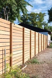 Horizontal Slatted Fence My Favorite Diy App Fence Design Backyard Fences Wood Fence Design