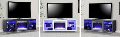 lumina fireplace tv stand for tvs upto