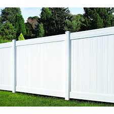 Ply Gem 6 Ft H X 8 Ft W Vinyl Fencing Wayfair