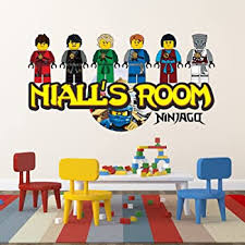Ninjago Eyes Vinyl Wall Stickers Lego Set Of 5