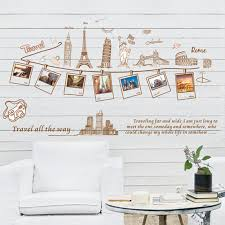 Home Decoration Vinyl Wall Sticker Travel All The Way Happy Memories Room Decal Art Mural Wallpaper Buy At A Low Prices On Joom E Commerce Platform