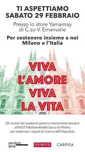 Coronavirus, Viva l'Amore, Viva la Vita: Yamamay e Carpisa ...