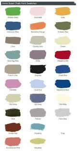 annie sloan chalk paint colors and link