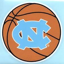 Amazon Com North Carolina Tarheels Nc Basketball 4 Vinyl Decal Tar Heels Car Sticker Unc Automotive