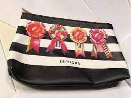 gift bows makeup bag cosmetic case