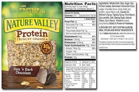 nature valley granola protein and soft