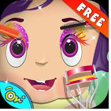 game baby eye makeup s games