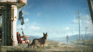 2560x1440 px dogmeat fallout 4 video