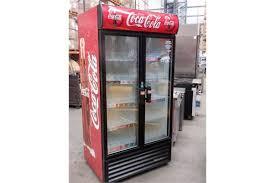 1 x oversized 2 door coca cola