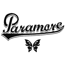 Paramore Butterfly Decal Sticker