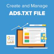 ads txt files in wordpress