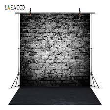 خلفيات Laeacco الجرونج لصور الحائط والطوب الداكن خلفيات تصوير