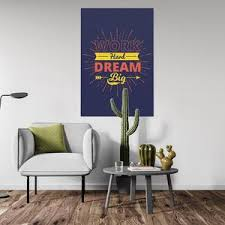 Work Hard Dream Big Canvas Modern Design Gym Wall Art By Motiv Art