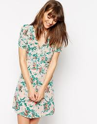 Sessun May Smith Silk Tea Dress | ASOS