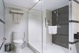 clear vs frosted glass shower doors