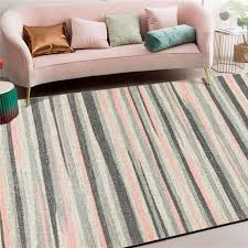 Area Rug For Living Room Nordic Watercolor Abstract Stripe Pattern Carpet Rugs For Children Rooms Living Room Table Accessories Rug Dealers Shaw Carpet Prices From Hymen 19 83 Dhgate Com