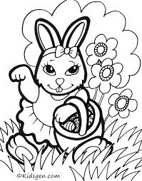 clipart rabbit coloring page clipart