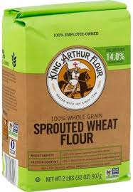 king arthur flour sprouted wheat flour