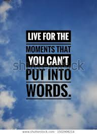 inspiration motivational life quotes on background stock photo