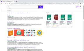 yahoo search redirect virus removal