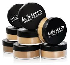 mineral foundation bella terra cosmetics