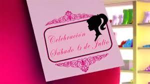 Invitacion Video De Cumpleanos Barbie Surfista 390 00 En