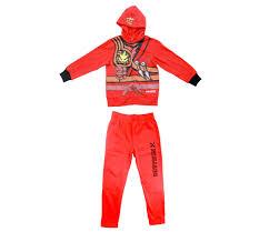 LEGO Movie Ninjago Red Boys Two-Piece Zip-Up Costume Hoodie ...