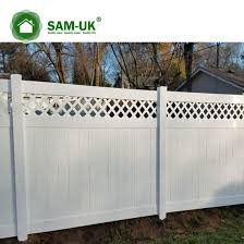 China 6 X 8 Vinyl Pvc Privacy Fence Double Gate On A Slope China Tongue And Groove Vinyl Private Fence White Vinyl Privacy Fence