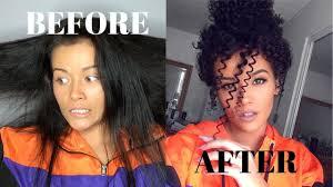 curly hair tutorial straw curls