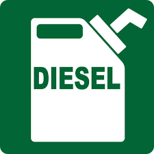 3in X 3in Diesel Sticker Vinyl Decals Stickers Fuel Safety Truck Decal For Sale Online