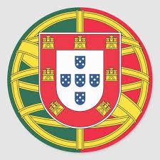 Portuguese Flag Quality Classic Round Sticker Zazzle Com Portuguese Flag Portugal Flag Coat Of Arms