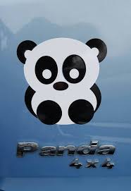 Cute Panda Bear Funny Sticker Car Window Bumper Laptop Vinyl Decal Room Decor