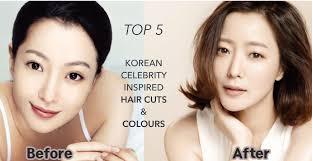 korean celebrity inspired hair cuts