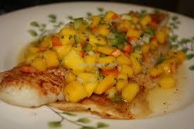Baked Grouper Fillet with Mango Salsa ...