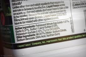 It S Not Work It S Gardening Product Review Liquid Fence Deer Rabbit Repellent