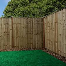 Mercia 6ft High 1829mm Mercia Vertical Feather Edge Flat Top Fencing Pack Pressure Treated Feather Edge Fencing Elbec Garden Buildings