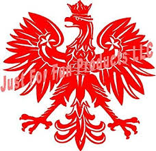 Amazon Com Just For Fun Red 4 5 Polish Eagle Poland Symbol Country Vinyl Die Cut Decal Bumper Sticker Windows Cars Trucks Laptops Etc Automotive