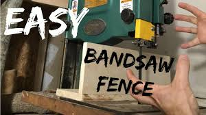 jwf worlds easiest bandsaw fence