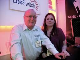 PLASA Focus 2010 | DSCF0228 | Adrian Brooks and Katherine Walmsley of  Litestructures.