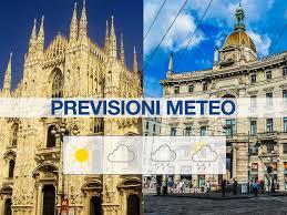 Previsioni Meteo Milano: cambia il tempo, ma per ora piogge non ...