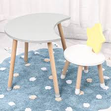 Nordic Furniture Children Room Solid Wood Tables And Chairs Wooden Learning Kids Desk For Kindergarten Kids Table And Chair Children Tables Aliexpress