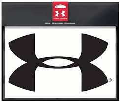 Amazon Com Under Armour Ua Big Logo Decal Automotive