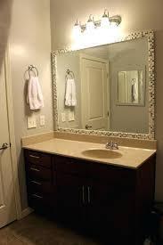 furniture tiled framed bathroom mirrors