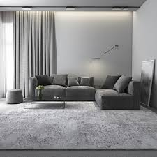 Super Sale F386 Nordic Grey Color Rugs And Carpet For Living Room Bedroom Luxury Shaggy Soft Carpet Kids Room Dining Room Coffee Table Area Rug Cicig Co