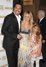 Lionel Richie and daughters (With ...