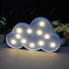 Night Light Children Lights Decorative Lights Clouds Blue Atmosphere Night Lights Sale Price Reviews Gearbest