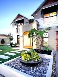 modern front yard landscaping