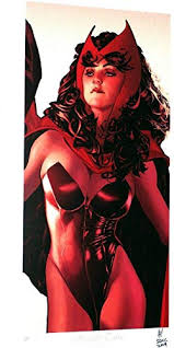 Scarlet Witch Litho Limited Artist Proof Signed w/COA Adam Hughes SDCC 2019  at Amazon's Entertainment Collectibles Store
