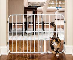 Extra Tall Dog Gate Pet Fence Baby Child Safety Wide Indoor Expandable Metal New Pet Supplies Fences Exercise Pens Ayianapatriathlon Com